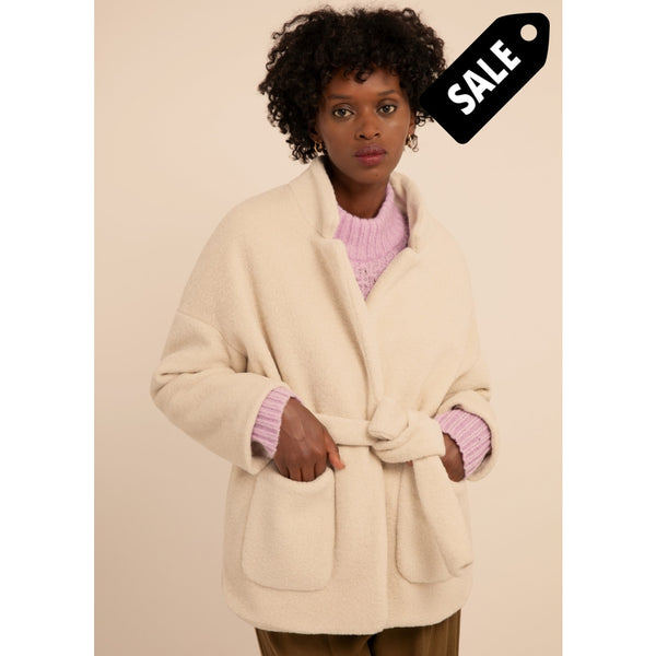 Scheila Coat - Ecru Jacket