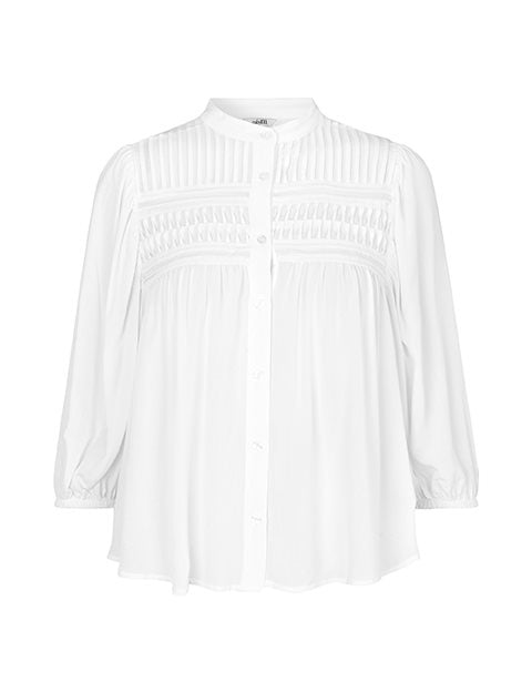 SENA JEFFIE SHIRT - WHITE