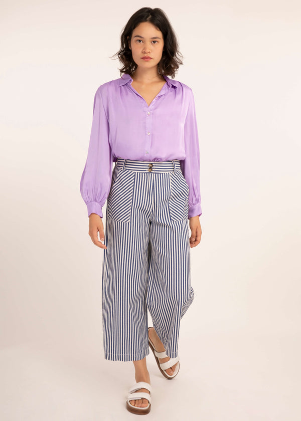 CINERARIA SHIRT - LILAS