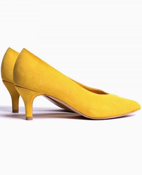 LANDI SUEDE - YELLOW
