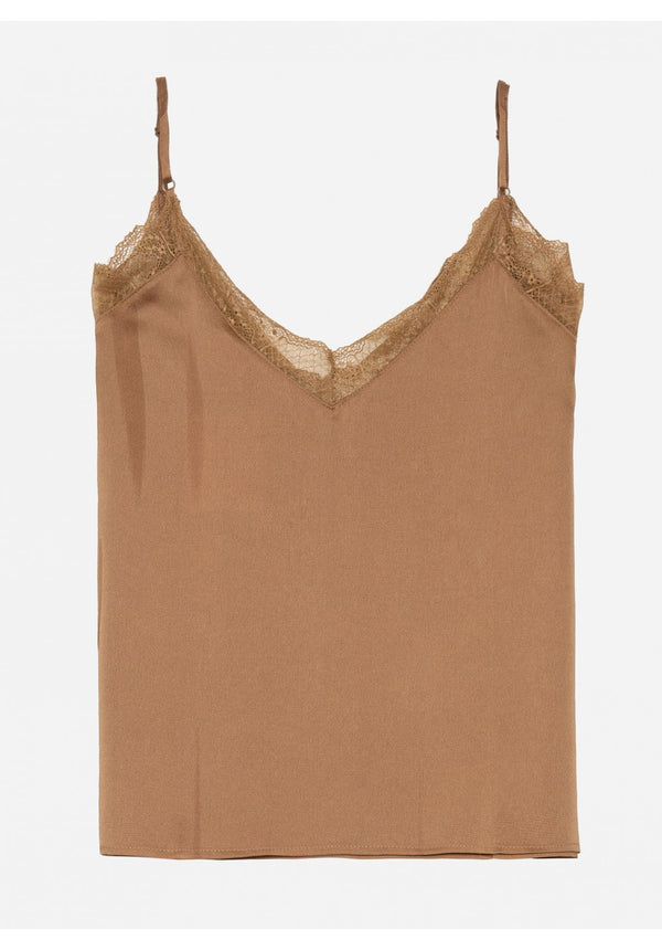 ADELIA TOP - CAMEL