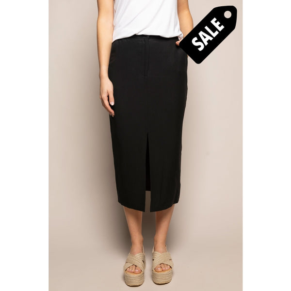 Tracey Skirt - Black Tencel