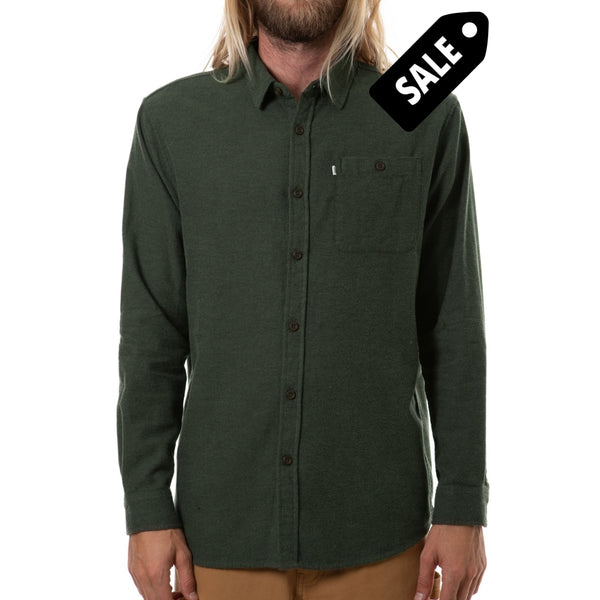 Twiller Flanel - Army S Shirt