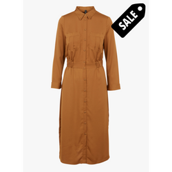 Verdi 7/8 Dress - Pumpkin Spice