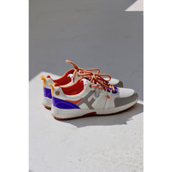 Willow Sneakers - Cream & Orange 42 Shoes