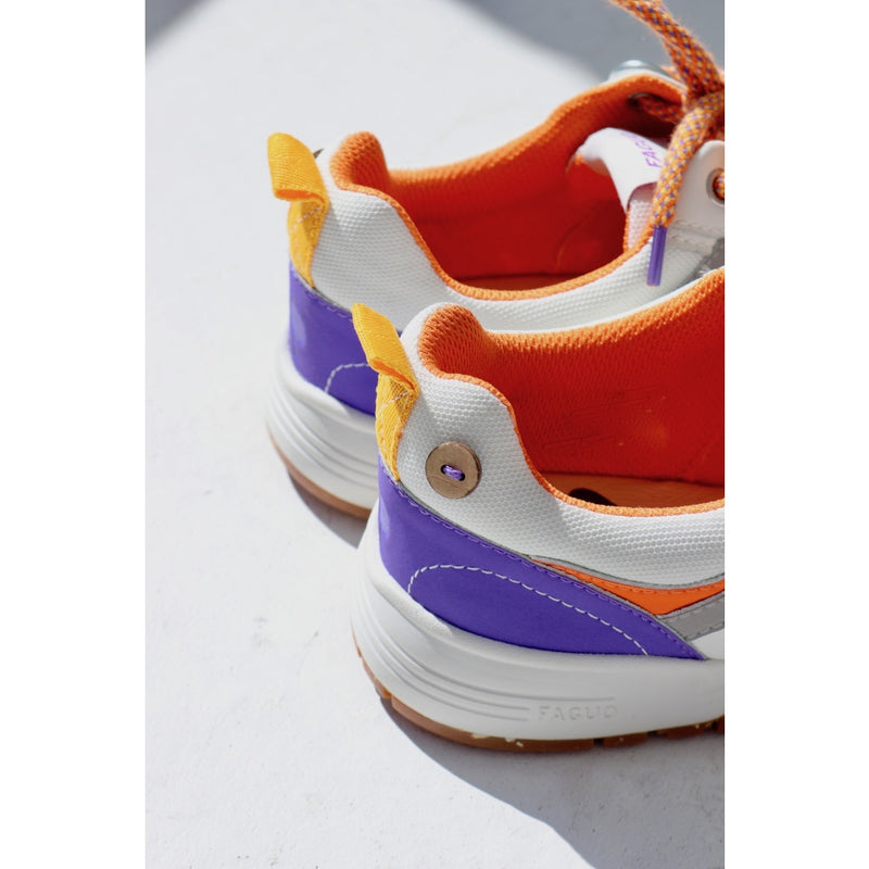 Willow Sneakers - Cream & Orange Shoes