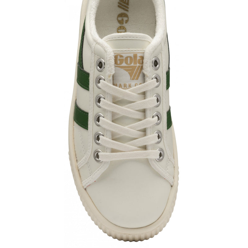 BASELINE MARK COX LEATHER - GOLA - OFFWHITE/GREEN