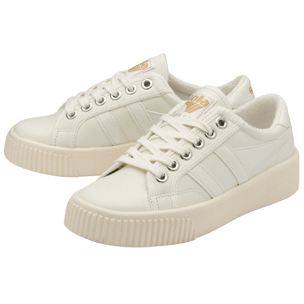 BASELINE MARK COX LEATHER - GOLA - WHITE