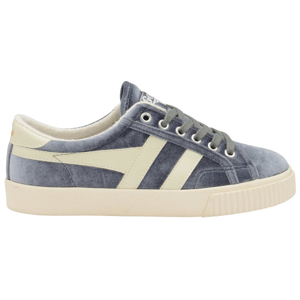 TENNIS MARK COX VELVET  - SLATE / OFF WHITE