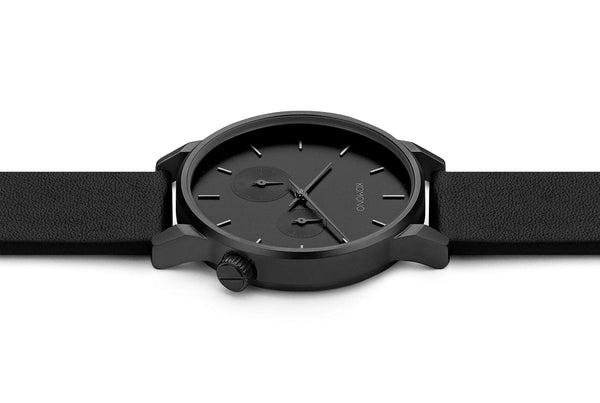 WINSTON DOUBLE SUBS WATCH - BLACK