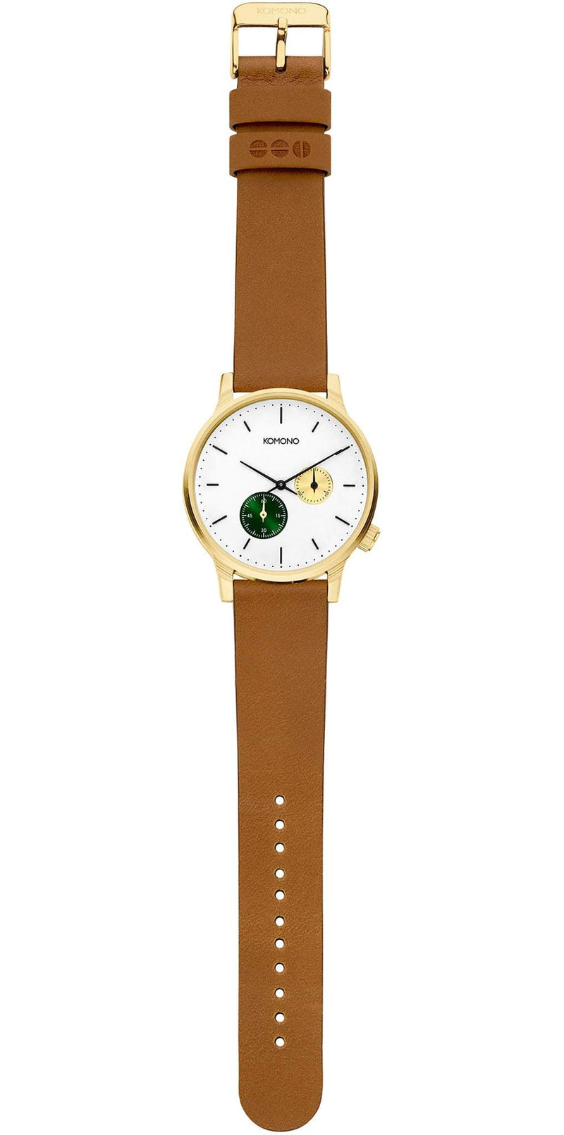 WINSTON DOUBLE SUBS WATCH - GREEN