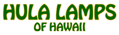 Hawaiian Hula Lamps
