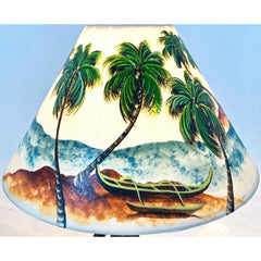 14 Inch Ocean Palm Outrigger14T-019-2019