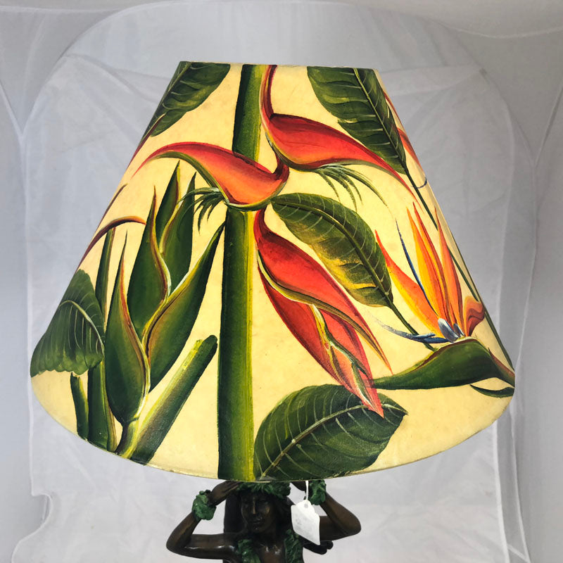 Bird of Paradise & Heliconia Shade - 16 Inch Medium