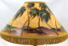 Outrigger on Beach 18 Inch Medium