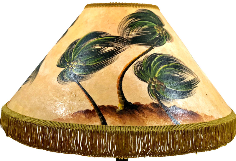WINDY Hawaiian Palms 18 Inch Medium Lampshade