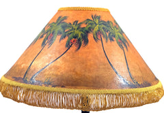 Palms with Coconuts 18 Inch Medium Lampshade