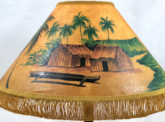 Outrigger Hawaiian Huts 18 Inch Medium Lampshade