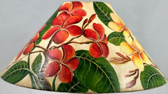 Plumeria mix Color 18 Inch Medium Lampshade