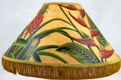 Pineapple & Heliconia 18 Inch Medium Lampshade