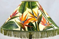 Bird of Paradise Delight 18 Inch Medium Lampshade