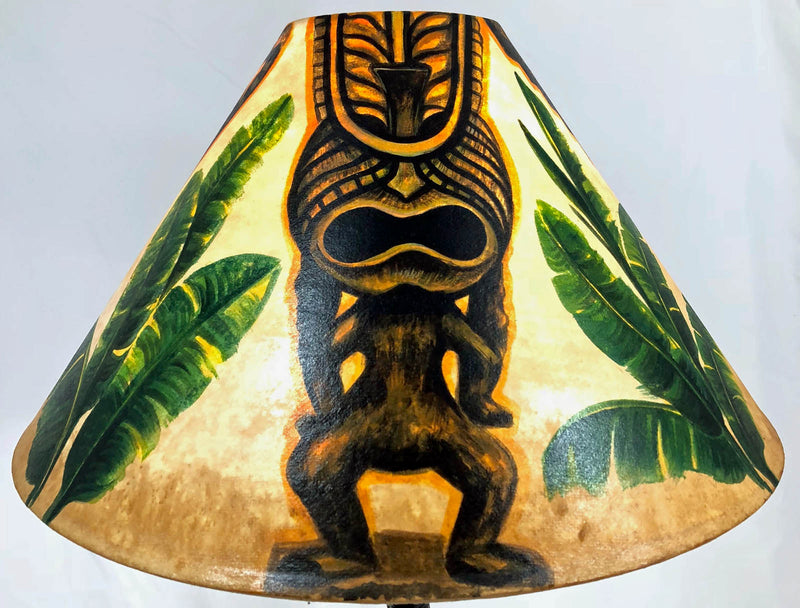 Big Tiki 18 Inch Tall Lampshade