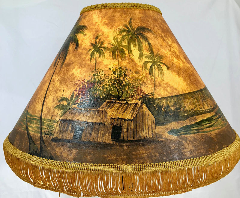 Diamond Head 18 Inch Tall Lampshade
