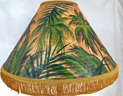 Palm Forest 18 Inch Tall Lampshade