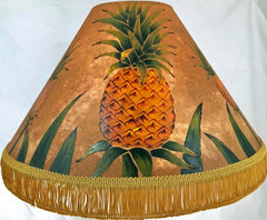 Hawaiian Pineapple18 Inch Tall Lampshade
