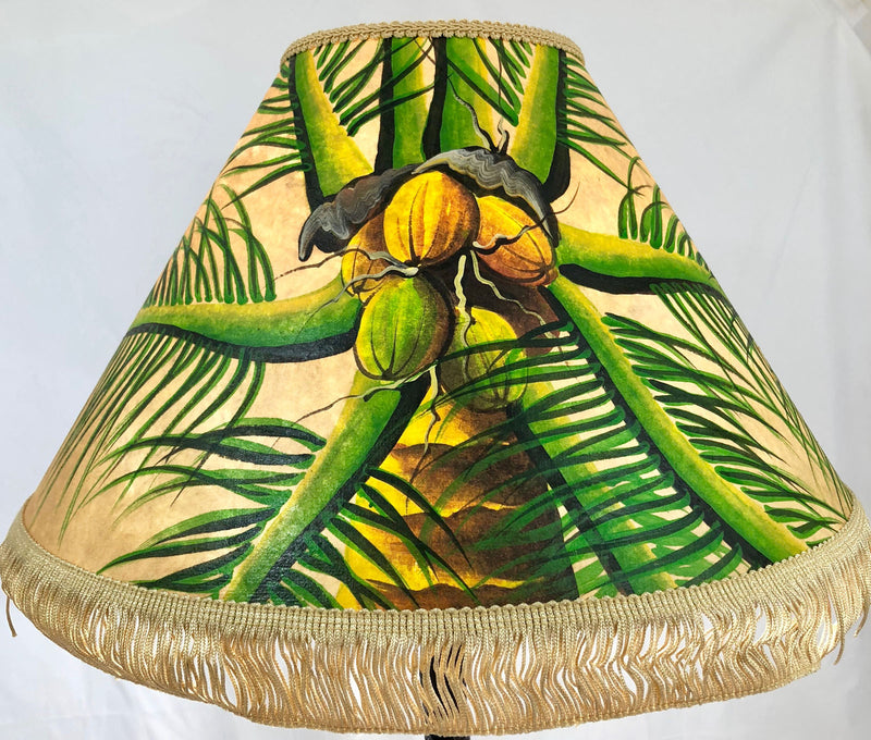 Coconut Head 18 Inch Tall Lampshade