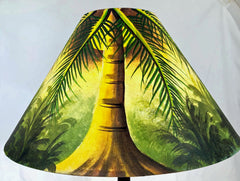 Moon Light Palm Forest  18 Inch Tall Lampshade
