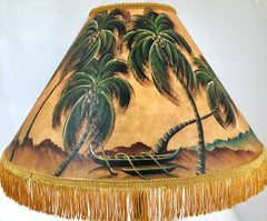 Outrigger Beach 18 Inch Tall Lampshade
