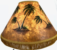 Simple Palm 18 Inch Tall Lampshade
