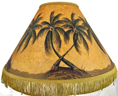 Bending Palms18 Inch Tall Lampshade