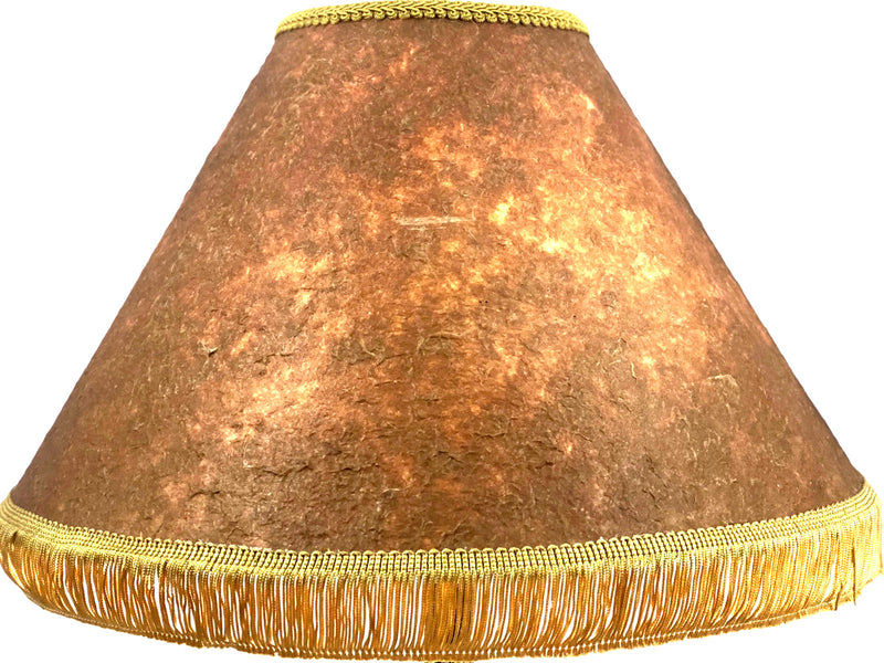 Hawaiian Simple Tapa 18 Inch Tall Lampshade