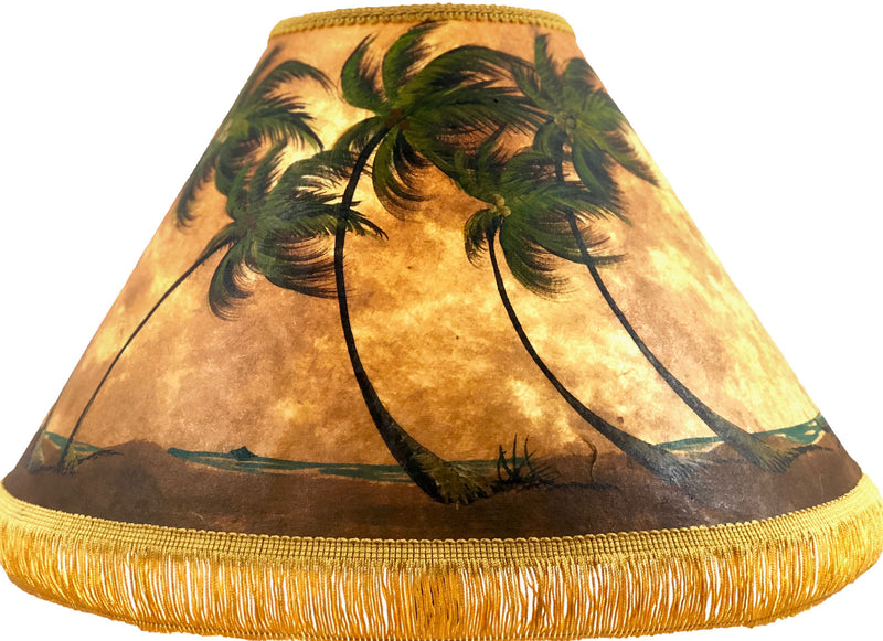 Ocean Palm Beach 18 Inch Tall Lampshade