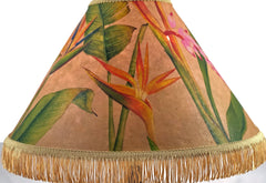 Pastel Hawaiian flowers18 Inch Tall Lampshade
