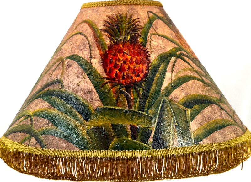 Pineapple Deep Texture 18 Inch Tall Lampshade