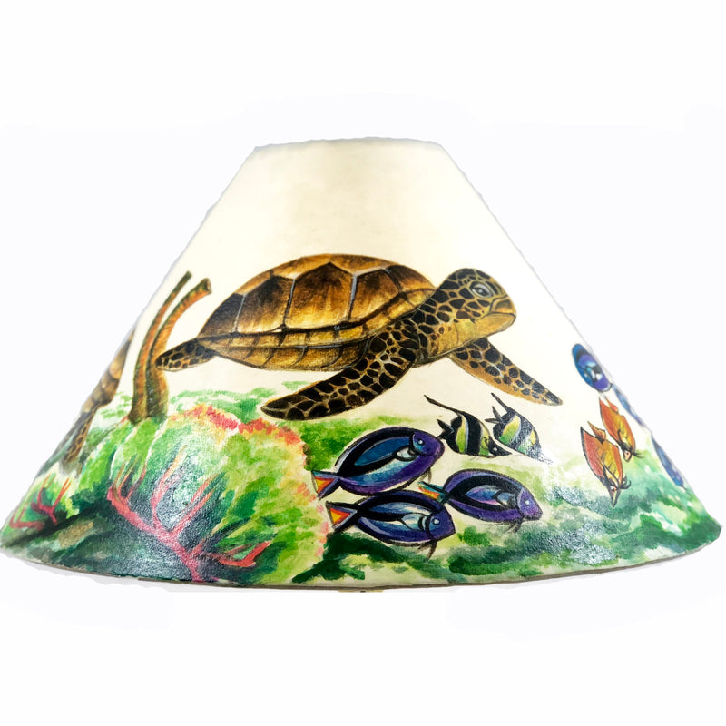 Green Sea Turtle 18 Inch Tall Lampshade