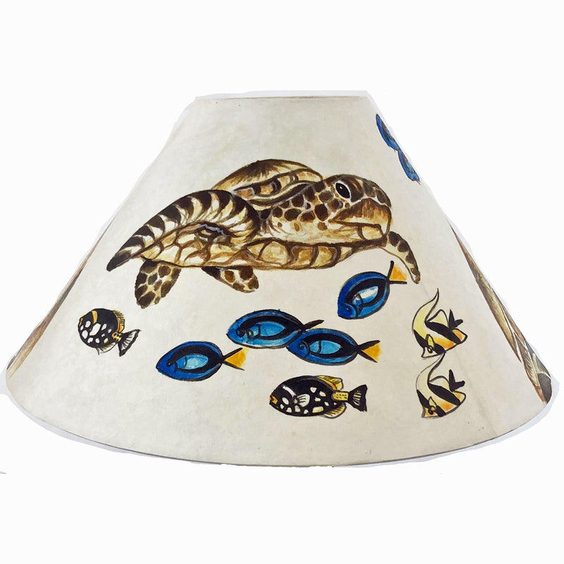 HAWAIIAN SEA TURTLES 20 Inch Shade (SKU 20S-015)
