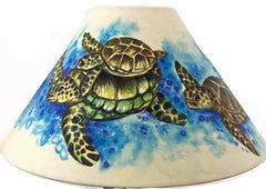20 Inch Shade (SKU 20S-016) HAWAIIAN SEA TURTLES