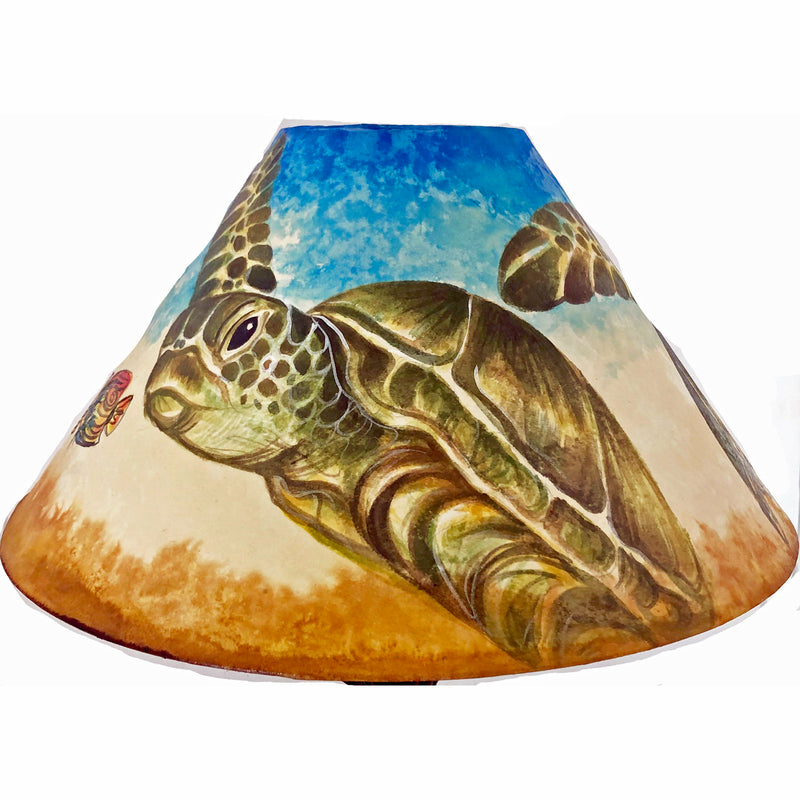 20 Inch Shade (SKU 20S-034) TURTLE DIVE