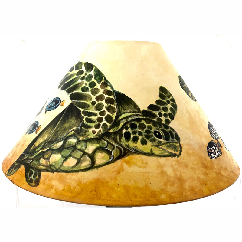 20 Inch Shade (SKU 20S-017) HAWAIIAN SEA TURTLES