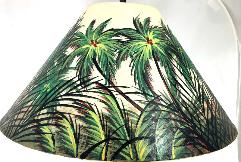 Green Forest Light Background Shade - 20 Inch (5.5 x 12 x 20)