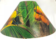 Yellow & Green Coconuts 20 Inch Shade (5.5 x 12 x 20)