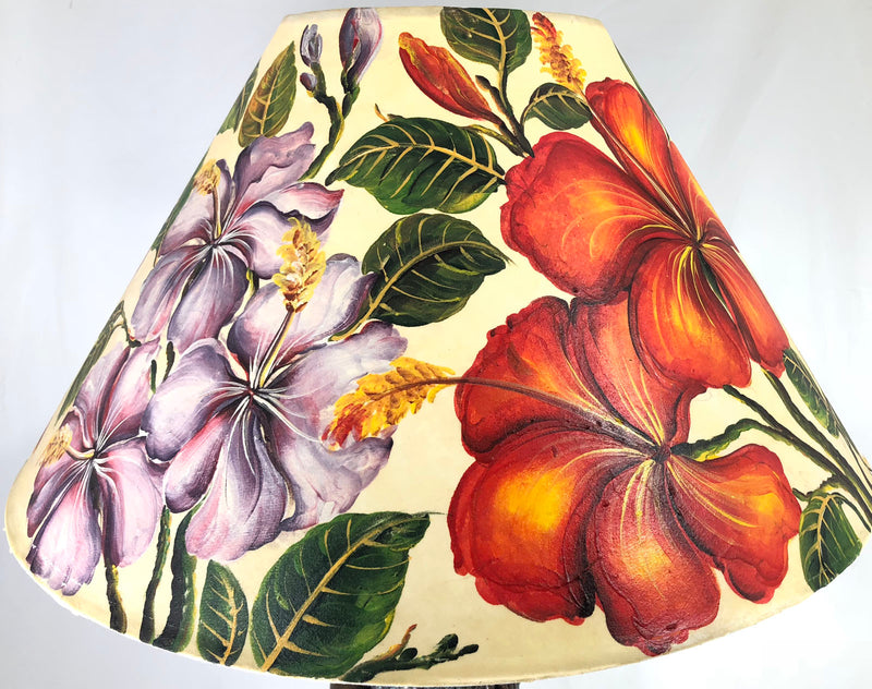 Hibiscus Deep Texture 20 Inch Shade (6 x 12 x 20)