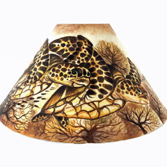 20 Inch Shade (SKU 20S-023) Two Tone Turtles