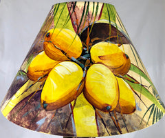 Vibrant Coconuts Shade - 22 Inch (8x14x22)