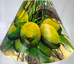 Green Coconuts Shade - 22 Inch (8x14x22)