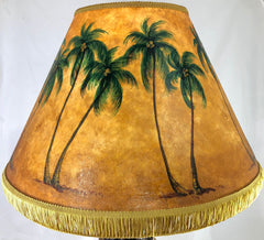 Tall Palms Shade - 22 Inch Large Head (9x14x22)